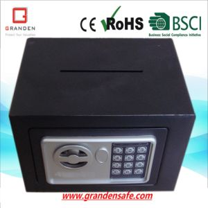 Electronic Safe Box for Home (with posting slot) , Solid Steel pictures & photos