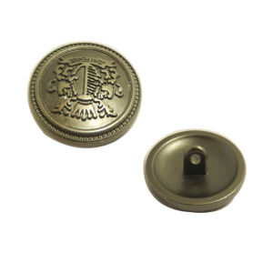 Garment Button Emboosed Custom Metal Button pictures & photos