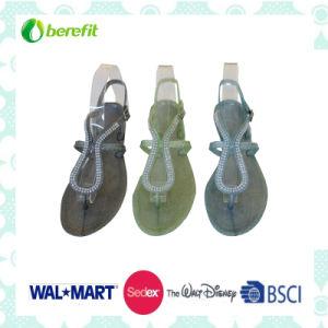 Women′s PVC Injection Sandals, Fanshin design pictures & photos