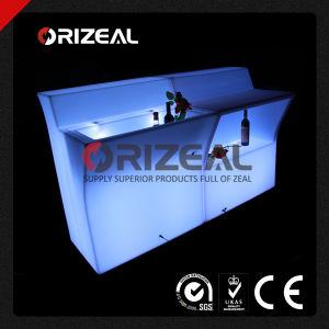 Mobile Glow Illuminated LED Jumbo Bar Counter (OZ-LF-1001) pictures & photos