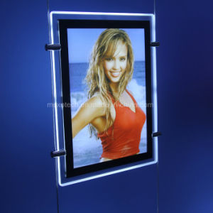 High Brightness LED Backlit Ultrathin Light Box for Advertisement pictures & photos