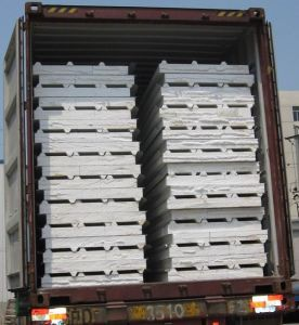 EPS Foam Insulated Sandwich Panel pictures & photos