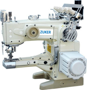 Zuker Feed up The Arm Automatic Thread Cutting Interlock Sewing Machine Direct Drive (ZK-1500-156D)