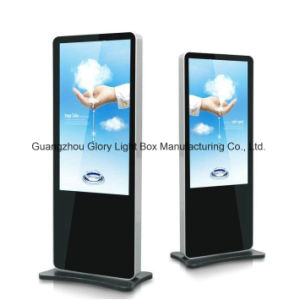 55′′ Vertical Network Indoor Advertising LCD Player pictures & photos