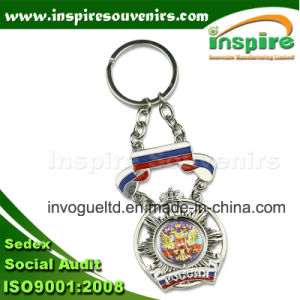 Russian Attractive Spinner Metal Key Chain pictures & photos