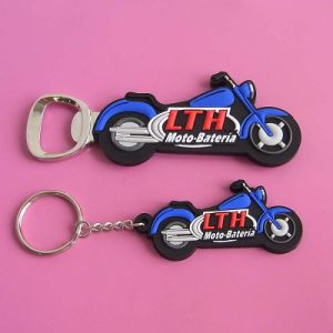 Custom 3D Pvcmotorbike Shaped Keychain pictures & photos