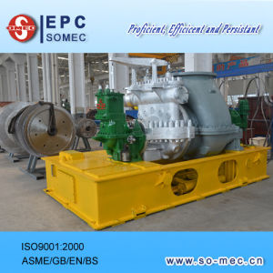 Palm Plantation Power Plant 2MW Back Pressure Steam Turbine Generator pictures & photos