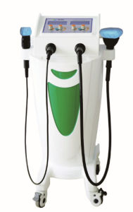 Med-600-3D Multi-Frequency Vibration Dual Mucus Aspirator Physical Therapy Machine pictures & photos