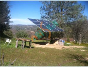 Solar Pole Mounting System for Ground Mounted pictures & photos