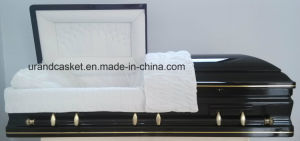High Gloss White Velvet Interior Urand Casket