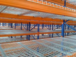 Multi-Beam Welded Flare Steel Wire Mesh Wire Decking pictures & photos