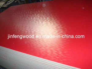 AAA Grade Magic Wave Finish Red Color Melamine Laminated MDF, Particle Board, HDF E1/E2 Glue From China pictures & photos