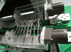 Automatic Shrink Sleeve Labeling Machine with Two Label Heads pictures & photos