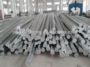 Philippines Electricity Delivery Steel Pole pictures & photos