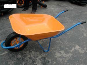 Construction Powder Coating Wheelbarrow Wb6400 pictures & photos