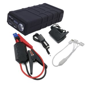 Portable Car Battery Booster Jump Starter 600A Peak with LED Light pictures & photos