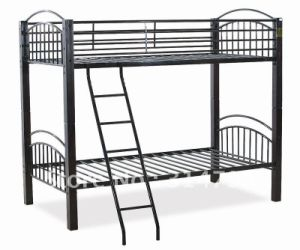 Factory Direct Sale Metal Single Bed for Worker pictures & photos