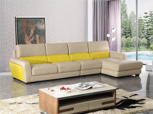 Modern Italy Leather Leisure Sofa pictures & photos