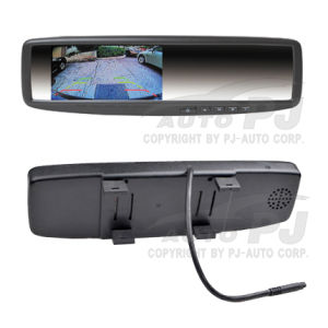 "4.3"" Super Slim Universal Clip-on Car Rear View Mirror Monitor (TM-4328LA)"