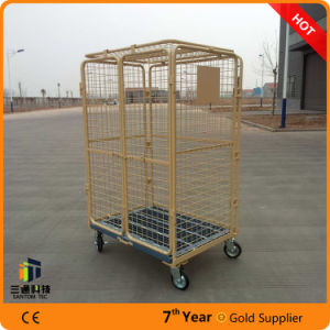 Warehouse Material Handling Cart, Roll Containers, Warehouse Roll Cage pictures & photos