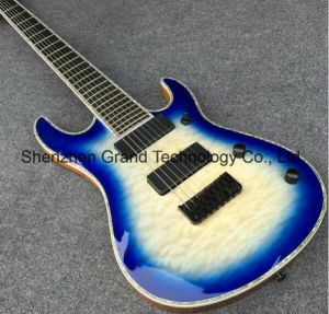 Regius 7 Strings Blueburst Electric Guitar with Ebony Fingerboard (GM-7) pictures & photos