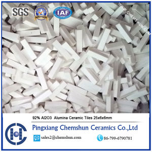92% Abrasion Resistant Industrial Alumina Ceramic Tiles for Mining pictures & photos