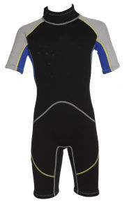 Junior′s Waterproof and Soft Shorty Wetsuit pictures & photos