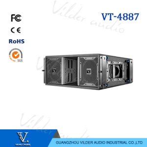 Vt-4887 Full Range 3-Way Double 8′′ Neo Drivers Line Array pictures & photos