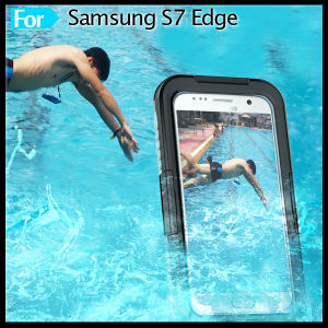 Built in Screen Protector Underwater Waterproof Case Cover Skin for Samsung Galaxy S7 Edge pictures & photos