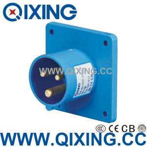 IP67 Waterproof Extension Plug by IEC Standard (QX-812) pictures & photos