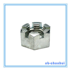 Hex Nut Hexagon Slotted Nut-2-1/2~3""