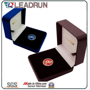 Plastic Coin Collection Box Cufflink Gift Box Wooden Cash Box Velvet EVA Insert Pack Box (G7)