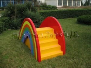 Kids Play Equipment Water Slide (ZC/CW/Rainbow) pictures & photos