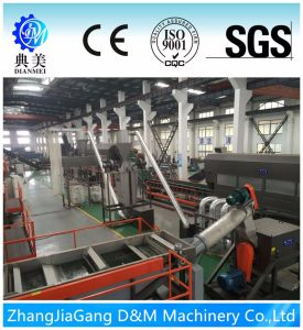 Waste Plastic Woven Bags PP Recycling Machine pictures & photos