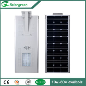 80W All in One Solar Road Yard Lamp Street Light pictures & photos