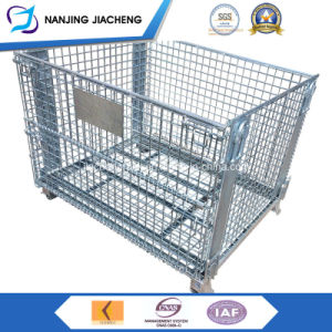 Qualified China Galvanized Wire Mesh Bin pictures & photos