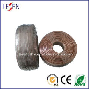 Transparent Speaker Wire with Oxygen-Free Copper and Tinned Copper pictures & photos