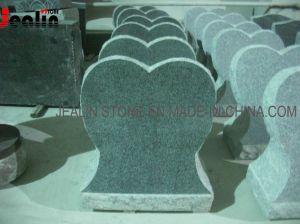 Granite Tombstone (heart shape G654)