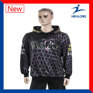 Healong Custom Design Full Subimated High Quality Hoodies pictures & photos