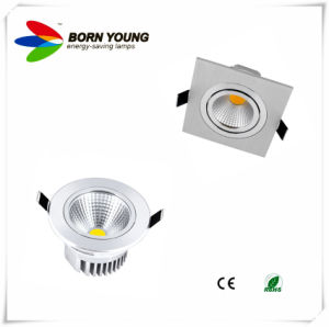 3W-18W Adjustable LED Down Light, COB LED Downlight, LED Spotlight, CE&RoHS pictures & photos