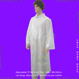Disposable LDPE Laboratory Coat, Disposable HDPE Lab Coat pictures & photos