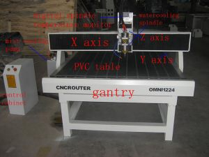 1325 5 Axis Sculpture Wood Carving CNC Router Machine pictures & photos