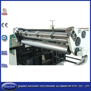 Household Aluminum Foil Roll Slitting Machine (GS-AF-600) pictures & photos