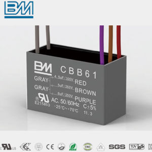 Cbb61 AC Motor Ceiling Fan Capacitor