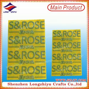 Aluminum Logo Sticker Labels, Metal Painted Sign, Specular Label pictures & photos