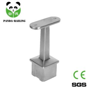 Stainless Steel Staircase Balustrade Fitting Square Tube Support pictures & photos