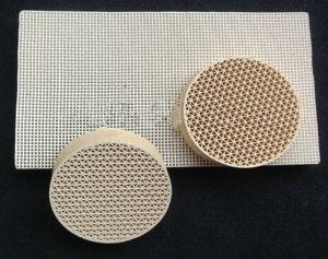 Industrial Alumina Mullite Ceramic Honeycomb Filter for Metallgury pictures & photos