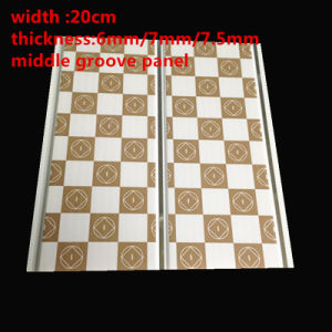 200mm*7mm Middle Groove PVC Ceiling Panel Printing Color (RN-109) pictures & photos