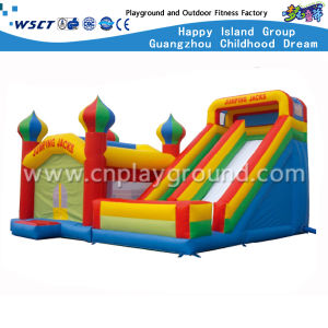 Cheap Outdoor Inflatable Castle and Slide for Sale (HD-9504) pictures & photos