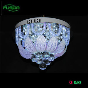 Contemporary Remote Control Crystal Ceiling LED Lamp pictures & photos